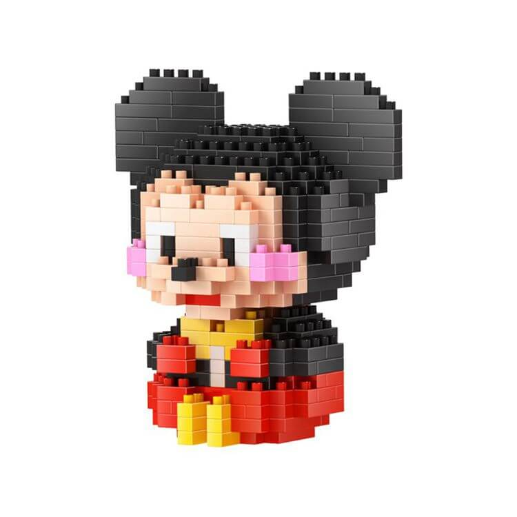 Mickey Mouse juguete de blocks